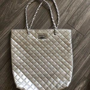 Handbags - S&Co Silver Tote Purse